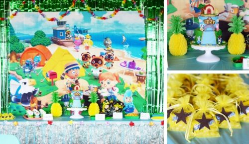 Animal Crossing Birthday Party Featured Image