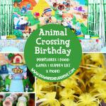 Animal Crossing Birthday Party