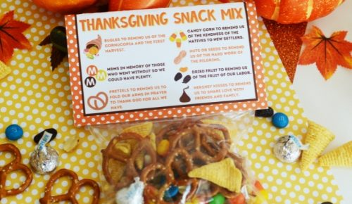 Thanksgiving Snack Mix Featured Image