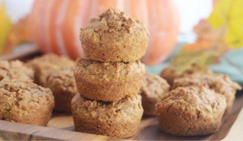 3 Ingredient Pumpkin Muffins Featured Image