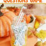 DIY Thanksgiving Gratitude Game