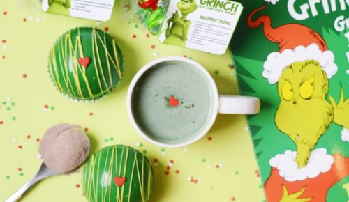 Grinch Hot Chocolate Bombs Featured Image