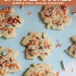 Fall Sprinkle Cookies