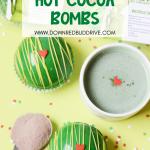 Grinch Hot Chocolate Bombs